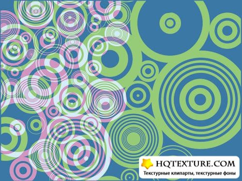 Stock Vector: Background with circles | Фоны с кругами