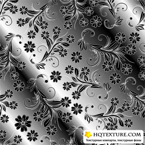5 Silver Pattern Backgrounds