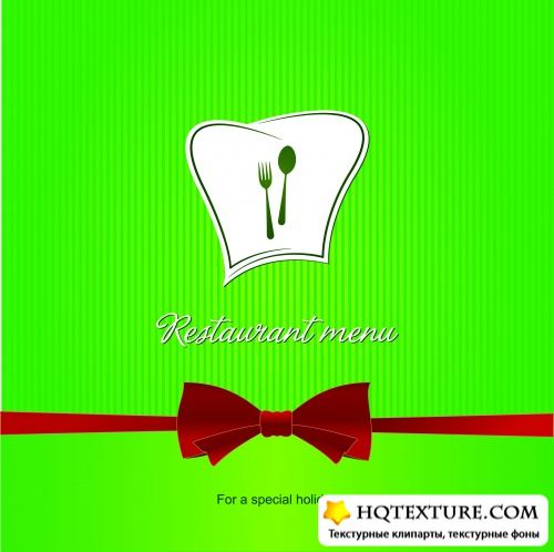 Stock Vector - Restaurant Menu Design 7