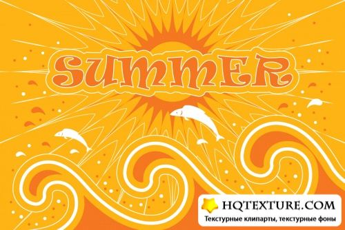 Summer backgrounds - Stock Vectors | Летние фоны