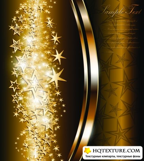 Stock Vector - Elegant Gold Backgrounds