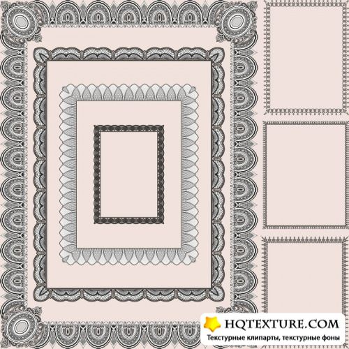Stock Vector - Old Frames Collection