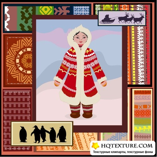 North ethnic patterns
