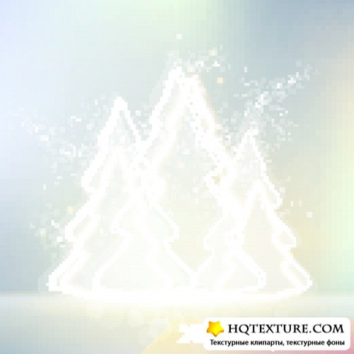 Зимние фоны | Winter vector background