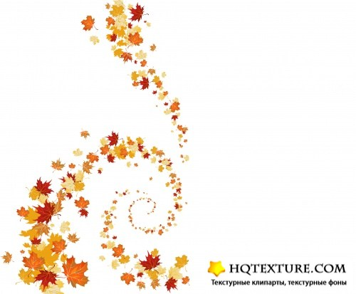 Stock Vector - Autumn Backgrounds 8