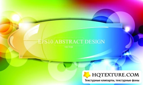 Color Abstract Backgrounds Vector 2