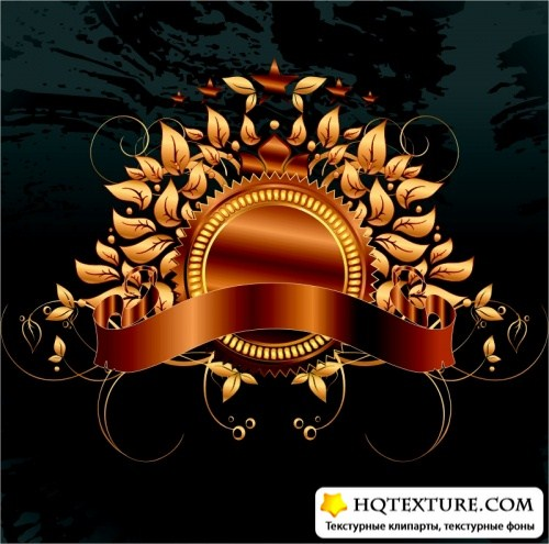 Ornate Vector Backgrounds