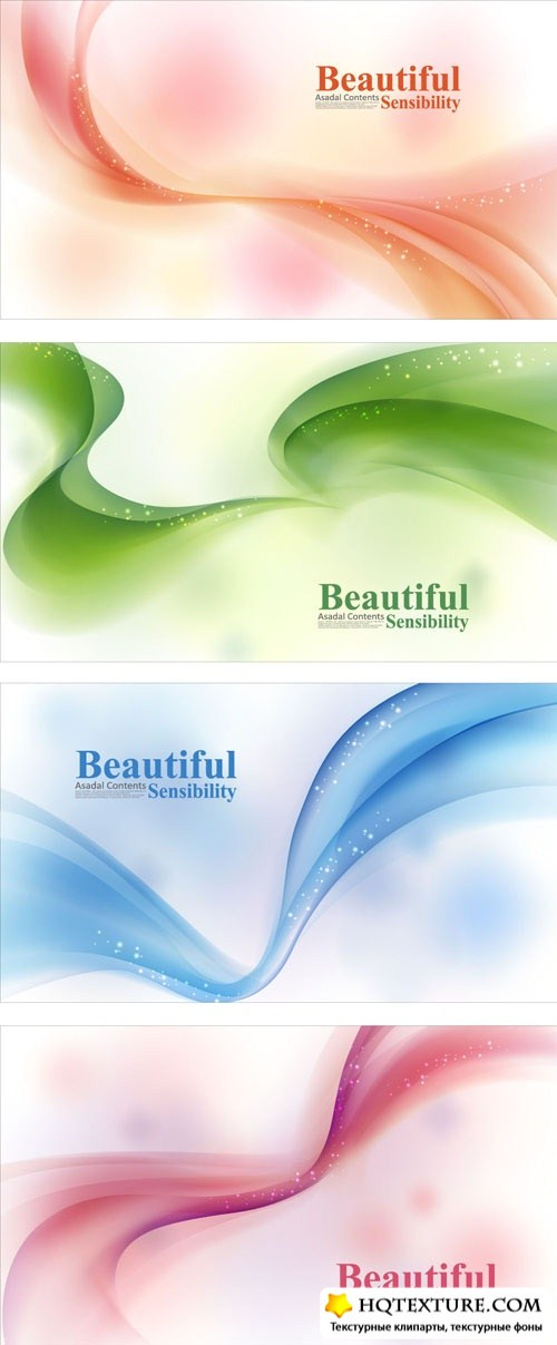 Beautiful waves backgrounds