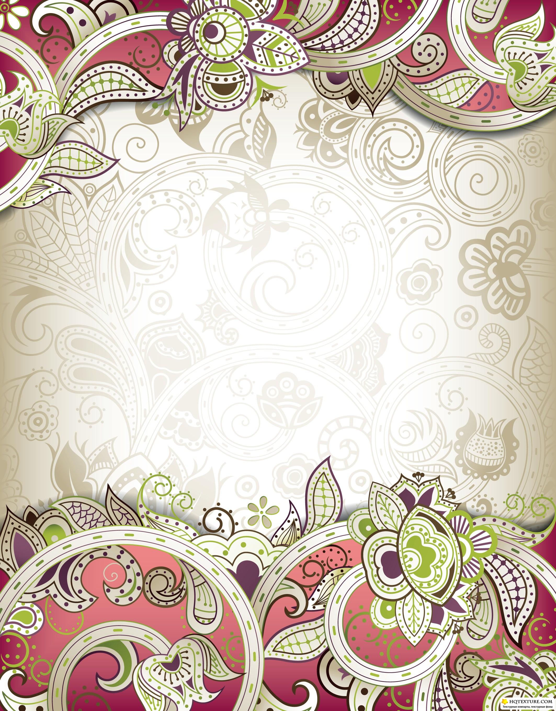 Цветочные рамки #3 - Векторный клипарт ...: hqtexture.com/vektory/ramki/4287-cvetochnye-ramki-3-vektornyy...