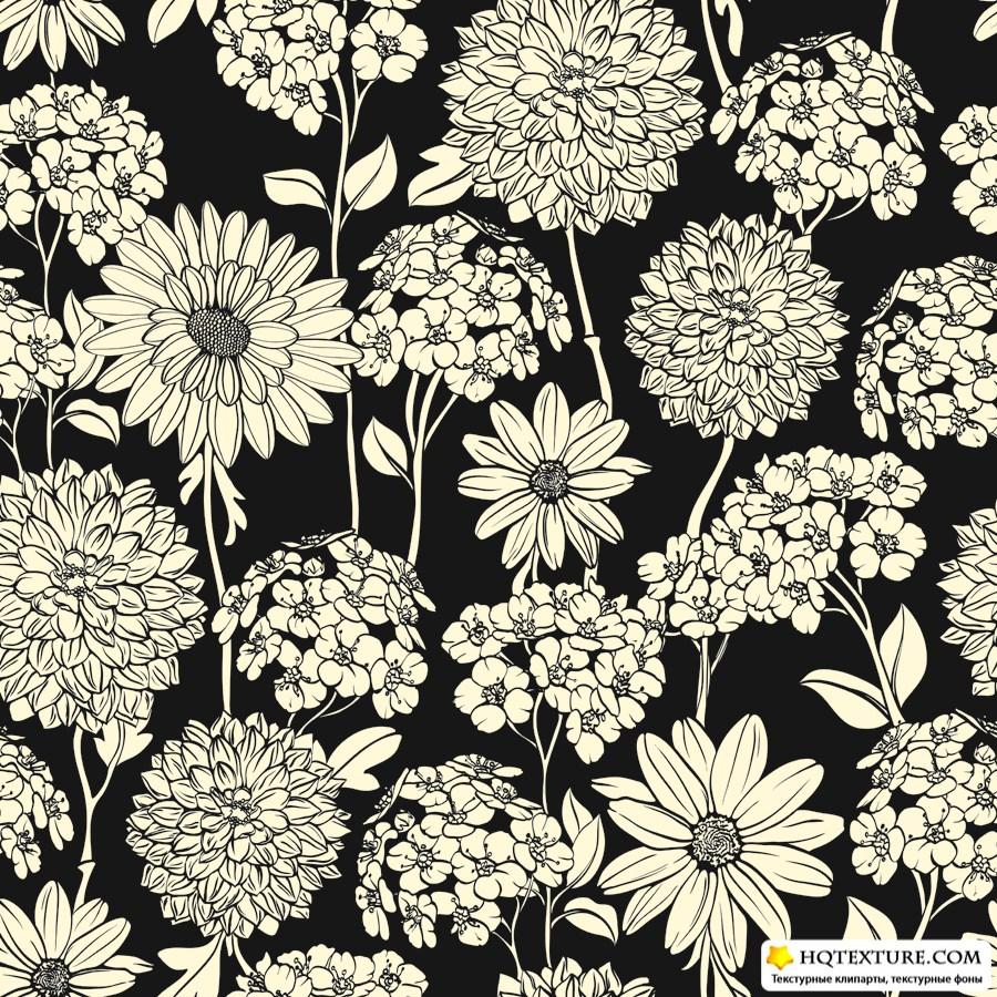 Maxi Dresses  Long Floral Black amp White Maxi Dress