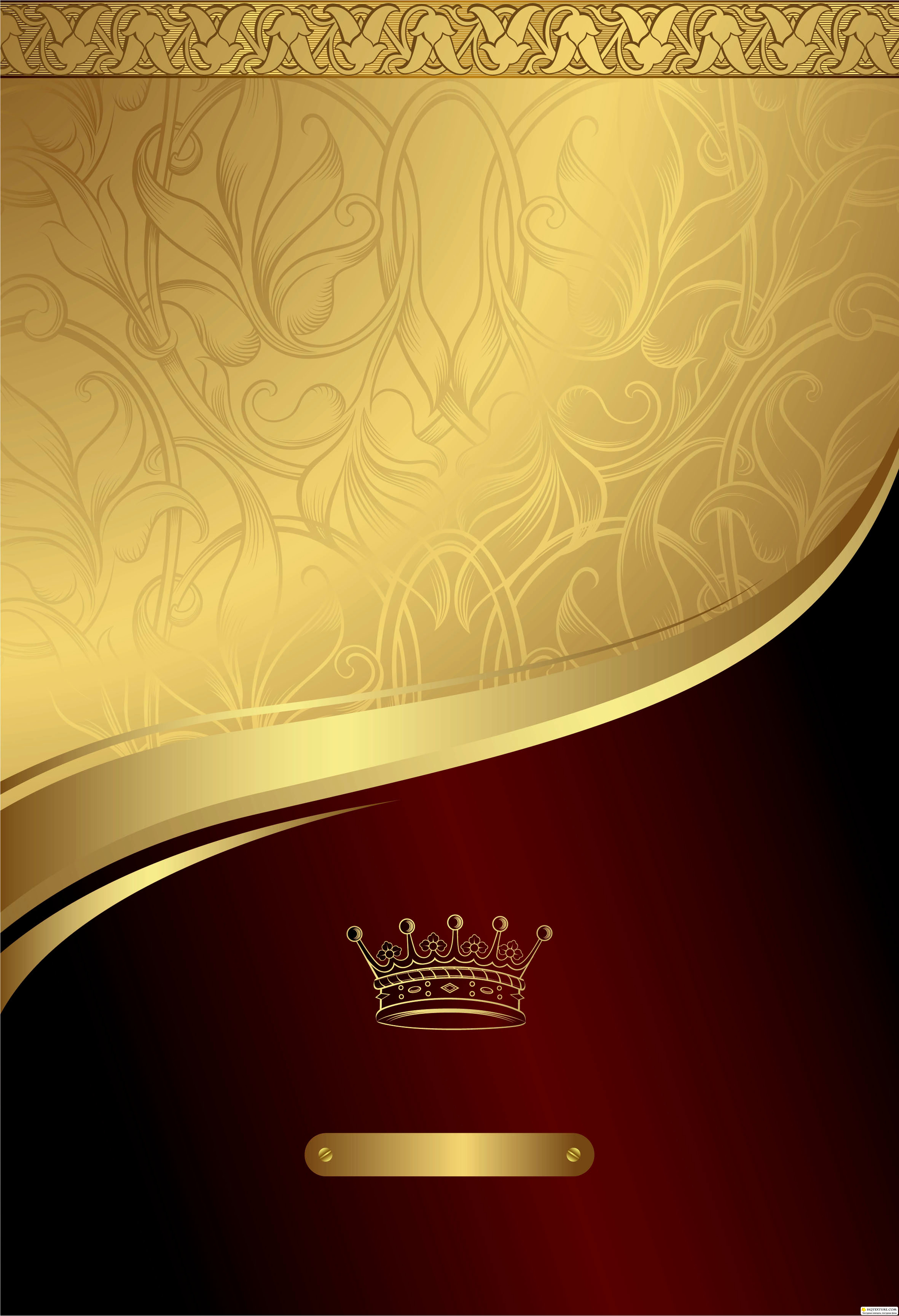 Stock: Gold and Red Floral Royal Background » Векторные ...