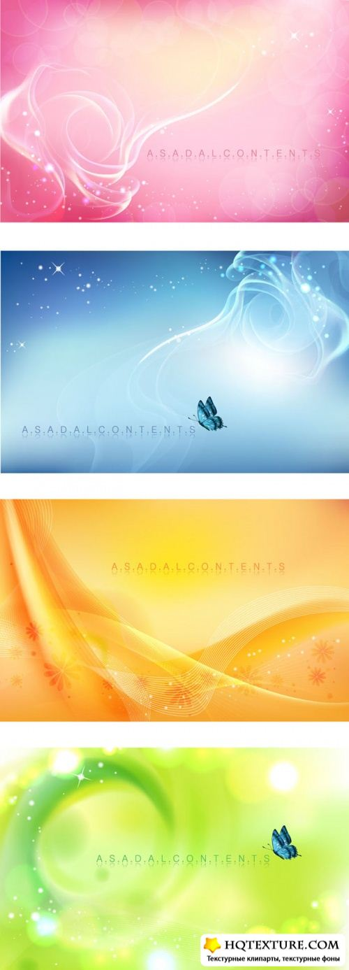 Abstract backgrounds set 4