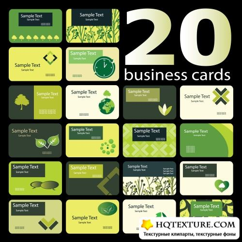 Eco cards