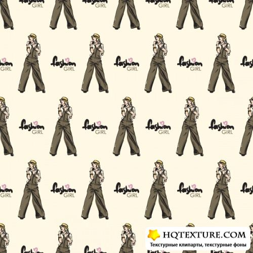 Fashion seamless texture