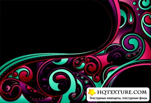Pattern Vector Backgrounds - Узоры, вектор, фон