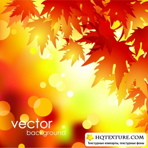 Natural Blurs Backgrounds Vector
