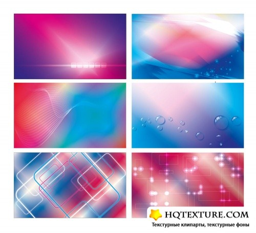 Amazing abstract backgrounds and banners