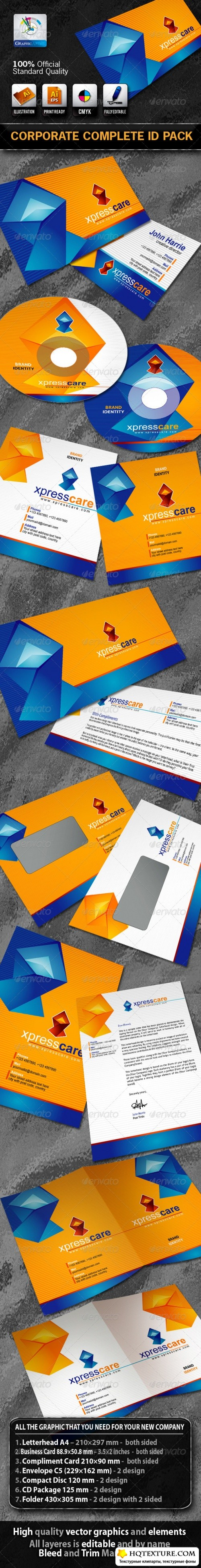 DX Xpress Care Business Corporate ID Pack + Logo