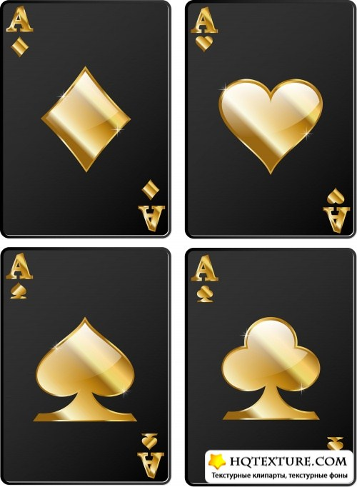 Stock: Casino - black cards