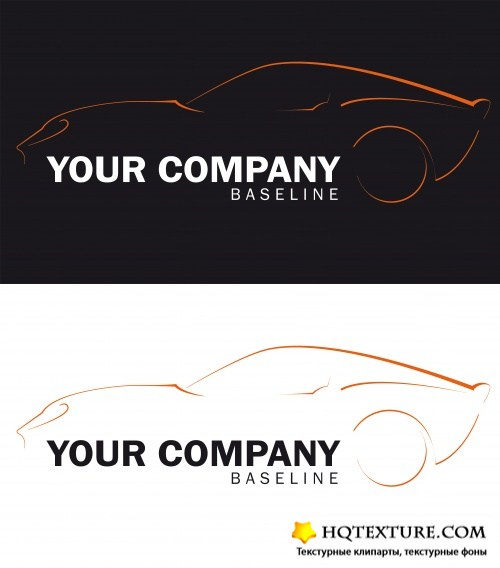 Stock: Logo automobile and backgrounds