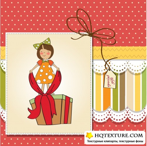 Little girl cards 5