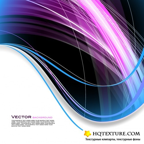 Color Abstract Backgrounds Vector 5