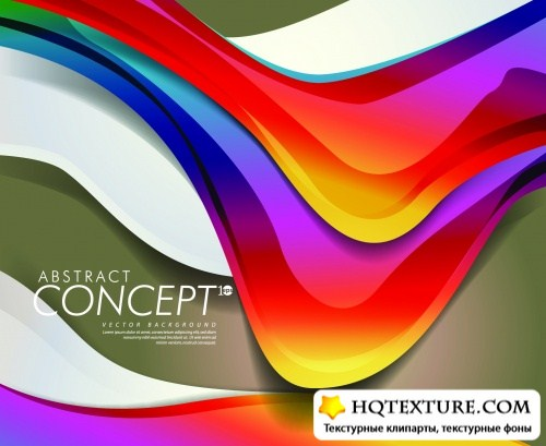 Abstract Color Backgrounds Vector 5