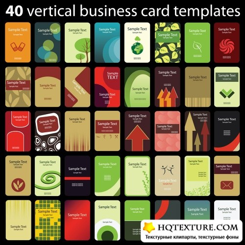 Business cards set 20