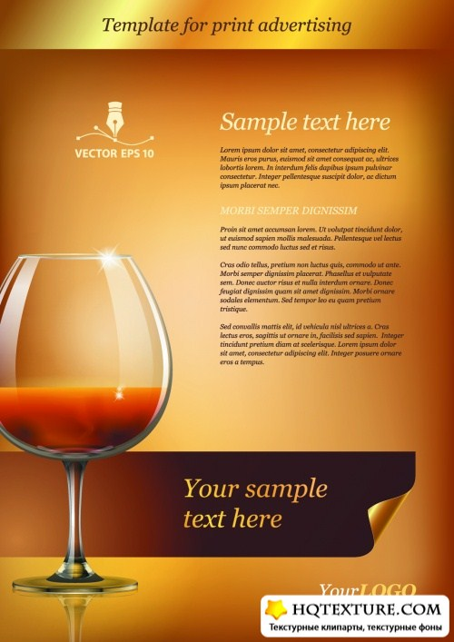 Advertising Templates Vector