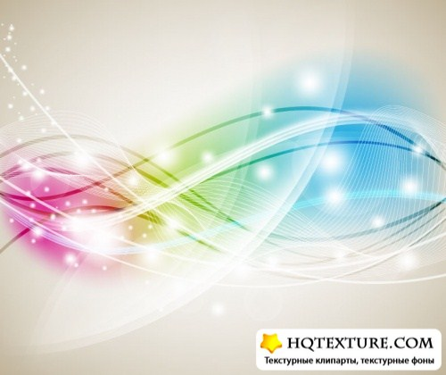 Abstract Colorful Background Vector For Photoshop