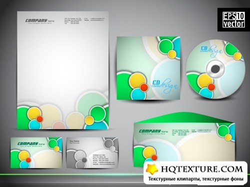 Corporate style templates