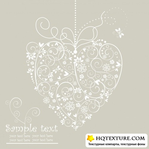 Beige Wedding Backgrounds Vector