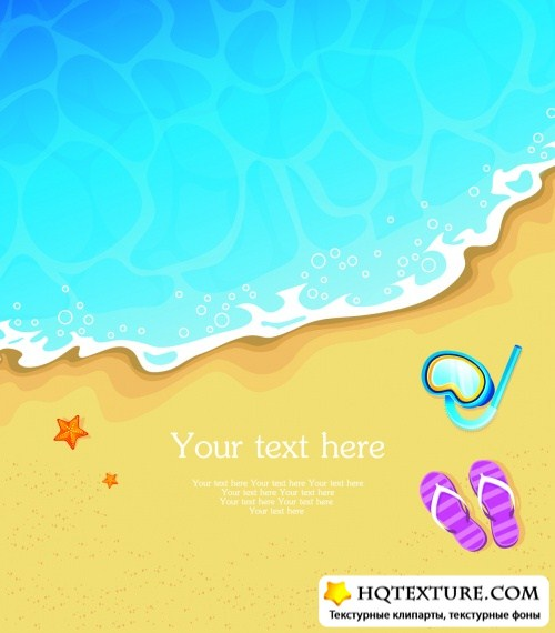 Summer Tropical Backgrounds Vector