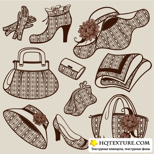 Ladies clothing - vector