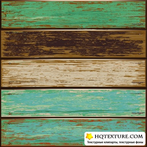 Wooden Backgrounds Vector 3