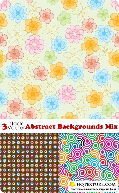 Abstract Backgrounds Mix Vector