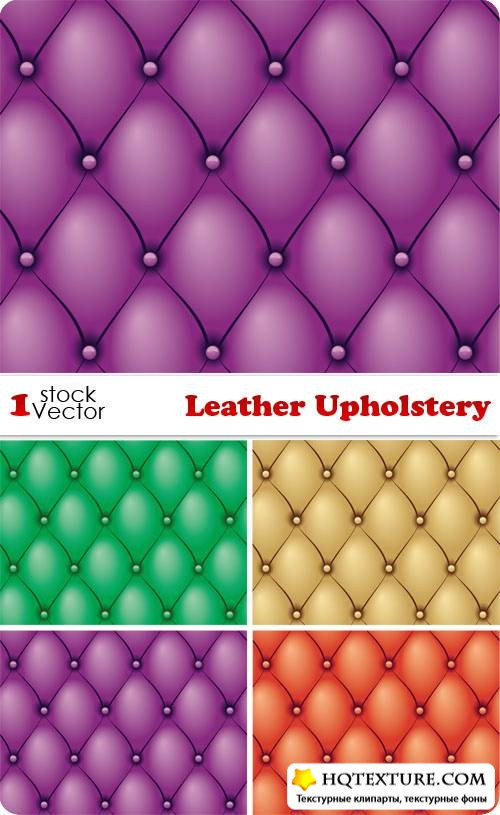 Leather Upholstery Vector