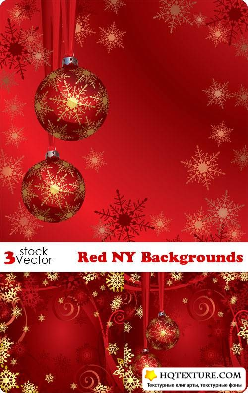 Red NY Backgrounds Vector