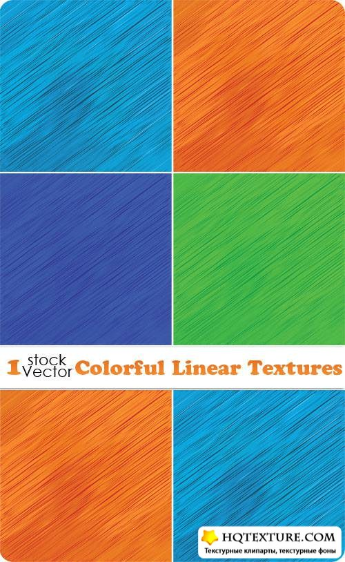 Colorful Linear Textures Vector