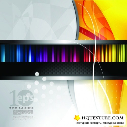 Futuristic Abstract Backgrounds Vector