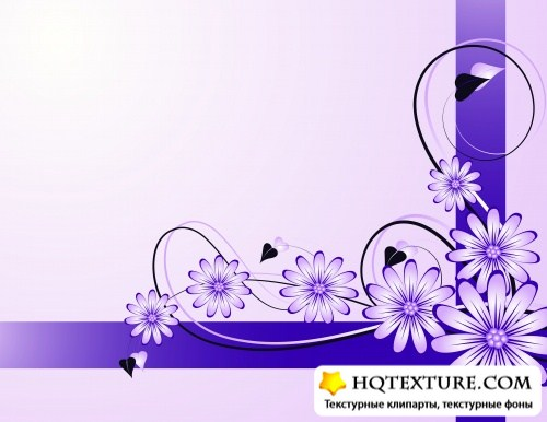 Stock: ABSTRACT FRESH FLORAL BACKGROUND