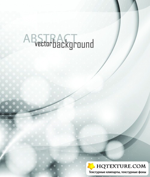 Abstract White Backgrounds Vector