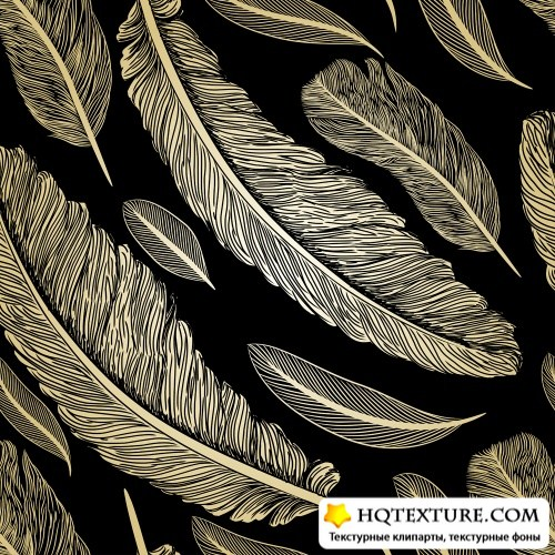 Фон с перьями | Background with feathers