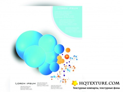 Брошюры абстракция вектор | Brochure color abstract vector