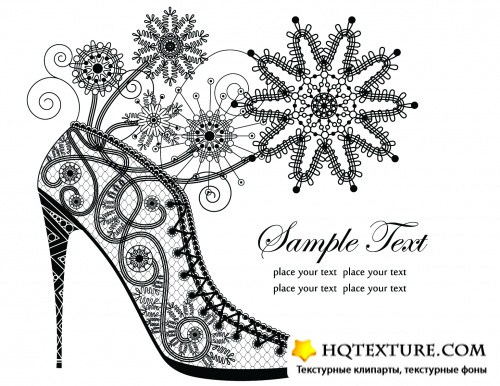 Lace Ornaments Vector 2