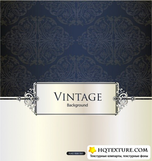 Grunge & Vintage Backgrounds Vector 2