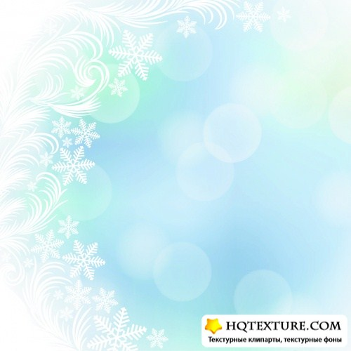 Pastel Winter Backgrounds Vector