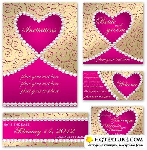 Wedding Invitations Set 2