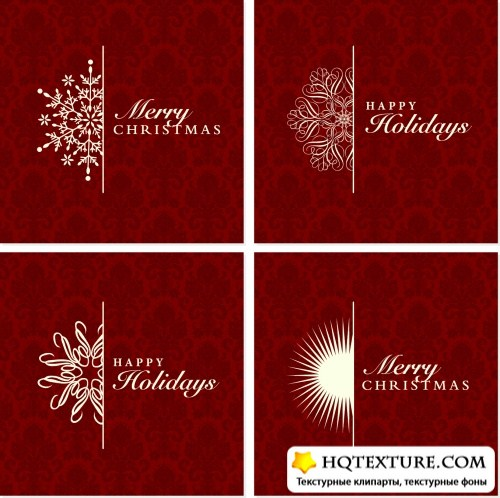 Half Ornament Frames Vector