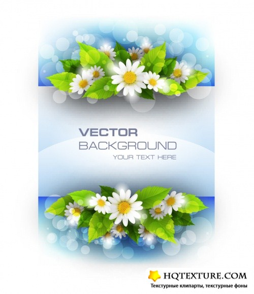 Spring Backgrounds Vector 2